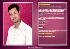 26 Best Biodata For Marriage Samples Images Bio Data For