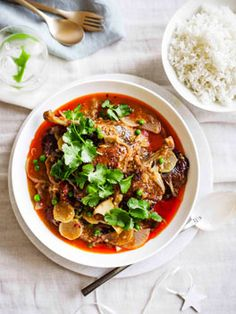 Red duck curry  Gourmet Traveller