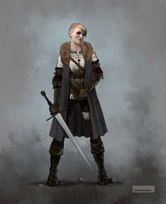 Ciri early concept 5 by Scratcherpen on DeviantArt