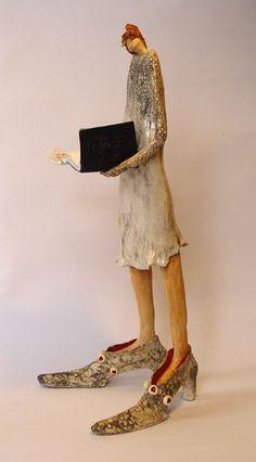 Windsong van Ineke Snoek bij Galerie Vier Hoog Achter Zeist