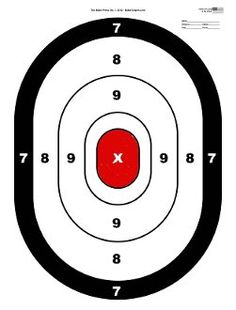 Large Oval Target 10pk | Get Racked Outdoor Supplies