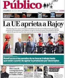 Público egunkariaren azken alea (2012.02.24)