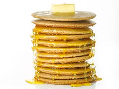 Zap these high-protein pancakes in the office kitchen