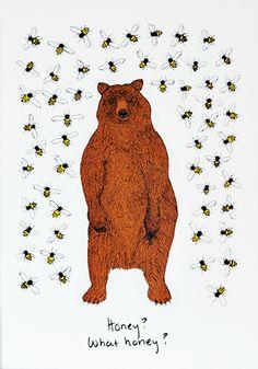 Bear & the Bees | Print Club London