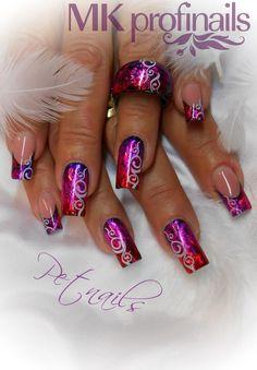 Matching polish jewelry and nail art Great Nails, Fabulous Nails, Perfect Nails, Gorgeous Nails, Cute Nails, Sexy Nails, Fancy Nails, Gel Nail Art, Acrylic Nails