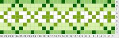 Tips for knitters applying color theory to knitting. Monochromatic scheme using greens
