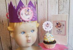 Ballerina birthday,Ballerina Party, Birthday crown,Ballerina cupcake picks by…
