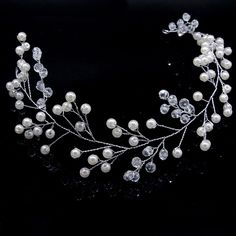1 Pcs Bride Crystal Hair Band Beautiful Hair Accessories Wedding Hair Jewelry Handmade Pearl Hair Ornaments M8694. Yesterday's price: US $3.86 (3.19 EUR). Today's price: US $2.74 (2.26 EUR). Discount: 29%.