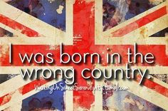 My heart is in Great Britain.
