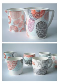 mug & pitcher pyop inspiration | Jessie Higginson ceramics  http://www.jessiehigginson.co.uk