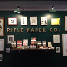 Rifle Paper Company's NSS booth.