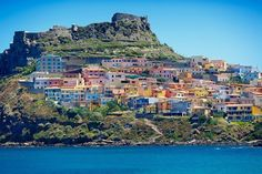 sardinia italy winter results - ImageSearch Corsica Travel, Sardinia Island, Visit Cyprus, Italy Winter, Living In Italy, European Summer, European Destination, Best Places To Live, Medieval Town