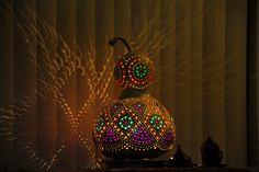 Authentischen Kürbis Lampen Autentici Lampade Zucca Authentic Gourd Lamp Sold / Ausverkauft  90 €