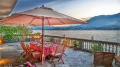 Beautiful exterior of a luxury villa in Como - walking distance from the Como Lake. #como #villa #exterior #luxury