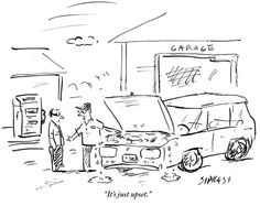 Farewell Tom Magliozzi. Click and Clack of NPR's Car Talk brightened many a Saturday for me. I'll miss the Good News Garage...  ...   http://www.newyorker.com/cartoons/daily-cartoon/daily-cartoon-bonus-monday-edition