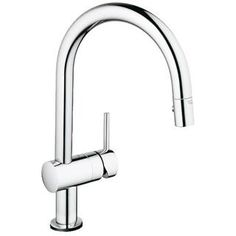 Check out the Grohe 31359 MintaTouch Pull-Down Single Handle Single Hole Kitchen Faucet with SilkMove Cartridge and Locking Spray Control priced at $524.30 at Homeclick.com.