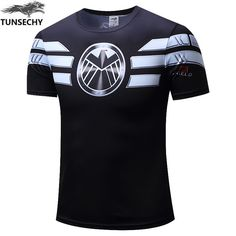 TUNSECHY Casual Jersey Tops T-Shirts Marvel T shirt mens #jewelry, #women, #men, #hats, #watches, #belts