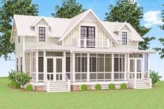 Delightful Cottage House Plan - 130002LLS thumb - 03