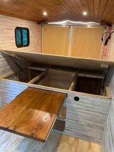 Build A Camper Van, Bus Camper, Camper Life, Camper Trailers, Van Conversion Interior, Camper Van Conversion Diy, Van Life, Kombi Home, Motorhome