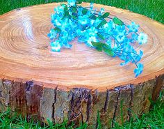 Gorgeous Wooden Cake Stand Rustic Cake Stand by MMDreamDecor
