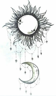 Image result for moon and sun