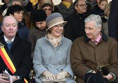 On February 25, 2018, Queen Mathilde of Belgium and King Philippe of Belgium attended the Krakelingen Festival held in Geraardsbergen, Belgium. Krakelingen is the bread and fire feast marking the end of winter. The festival parade concludes with a reference to the basic elements that determine them – fire, fishes, bread and wine. This festival is protected by UNESCO since 2010.