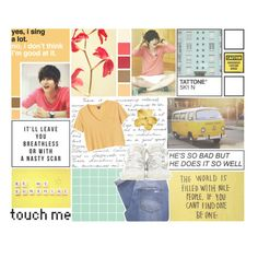 """""""❀Somethin' 'bout you makes me feel like a dangerous woman❀"""" by b33heartsmusicandfashion ❤ liked on Polyvore featuring art, multicolored, blockb, draftset, jaehyo and brithaniescreations"""