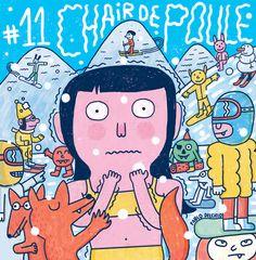 Cover Biscoto #11 / Chair de Poule by Pablo Delcielo, via Behance