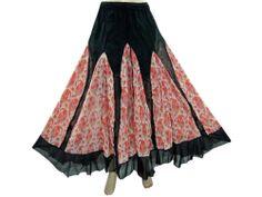 #LONG-SKIRT #GYPSY-SKIRT #BOHO-SKIRT #HIPPIE-SKIRT #PATCHWORK SKIRT Maxi Long Skirt by baydeals @eBay