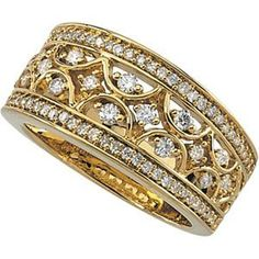 yellow gold and diamonds