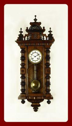 Amazing Antique German Wall Clock Kienzle 1900s German wall