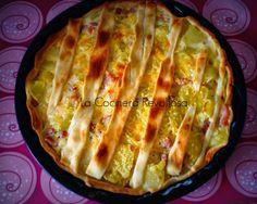 La Cocinera Revoltosa: Quiche de tortilla, bacon y queso Empanadas, Tortilla, Queso, Salad Recipes, Cabbage, Pasta, Quiches, Vegetables, Cooking