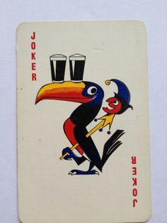 SINGLE GUINNESS JOKER BREWERY ADVERTISING PLAYING CARD