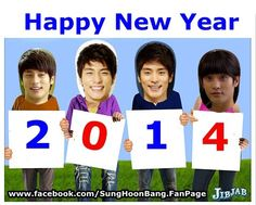 [ Happy New Year ] to my Fans ^^  With Love from #SungHoon @bbangsh83 #성훈 @TMSH83 #ソンフン  And Sung Hoon Facebook Fan page  FACEBOOK : https://www.facebook.com/SungHoonBang.FanPage
