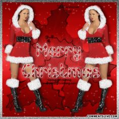 Sexy Girls Christmas picture