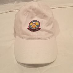White Naval Intelligence Baseball Cap NEW & Unused! Accessories Hats