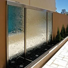 Custom Water Features contemporary indoor fountains