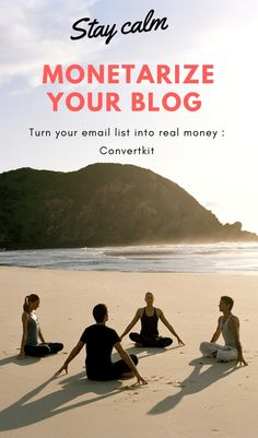 Stay calm   Email list to real money   One step to create income from your blog : Converkit Guided Meditation, Mindfulness Meditation, Vegetable Garden Design, Yoga Benefits, Yoga For Beginners, Business Tips, Health Fitness, Outdoor, Stay Calm