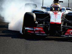 Lewis Hamilton had a tough day at Suzuka (2012)