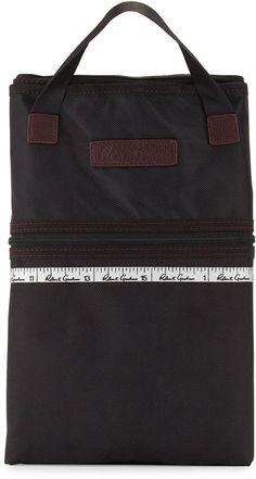 Robert Graham Lagoon Garment Bag, Black/Red
