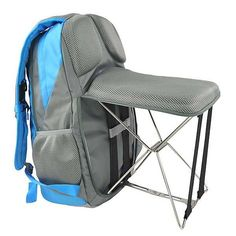 The Backpack Boasts a Foldable Chair