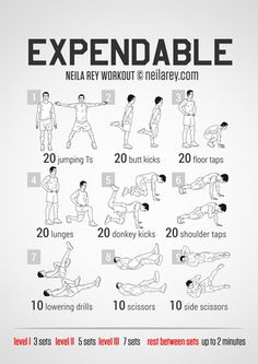 Learn About These Gr Learn About These Great exercise workout routine Fitness Tips For Men, Mens Fitness, Gym Workouts, At Home Workouts, Weight Workouts, Workout Routines, Neila Rey Workout, The Expendables, Yoga For Beginners