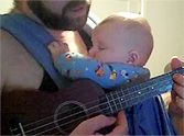 Daddy Sings Crying Baby to Sleep with a Hallelujah Lullaby - So Heartwarming