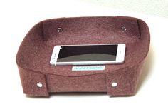Weiteres - PLASTIKFREI VEGAN Taschenleerer Ablage Schale Gr.L - ein Designerstück von KHAFFEE bei DaWanda