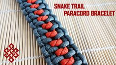 Snake Trail Paracord Bracelet Tutorial- Hey Weavers, here is a video tutorial for the Snake Trail paracord bracelet. This weave combines Kevin House's hex nut bracelet with the Snake knot which was put together by Michele Feil. Hope you enjoy making the Snake Trail paracord bracelet as I did! Thanks for watching and let me know what you think!