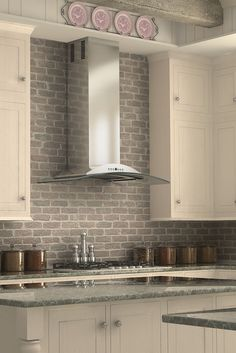 Remodel your kitchen with the ZLINE KN wall mount stainless steel and glass range hood. It has a modern design, ducting and ductless venting options, and built-to-last quality that would make a great addition to any home or kitchen remodel and looks great with white cabinets. This hood's high-performance 760 CFM & 4-speed motor will provide all the power you need to quietly and efficiently ventilate your kitchen while cooking. For more details visit, www.zlinekitchen.com
