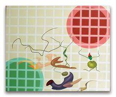 2001, Crop, acrilici su tela, cm  50x60