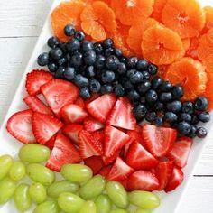 Fruit Salad - Gardening Fruit Salad - Gardening - Fruit Salad Colorful fruit salad – strawberries, blueberries, green grapes and oranges!<br> Fruit Salad Colorful fruit salad – strawberries, blueberries, green grapes and oranges! Healthy Fruits, Healthy Snacks, Healthy Recipes, Healthy Grilling, Grilling Recipes, Healthy Eating, Fruit Smoothie Recipes, Fruit Recipes, Freezer Recipes