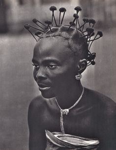 African Braids Hairstyles 420875527665703727 - Have no clue why I pinned this…. Flyest Hair Dominique Darbois, Artia, 1962 Source by African Life, African History, African Art, African Braids Hairstyles, Cool Hairstyles, Braid Hairstyles, Skin Girl, Hair Afro, Make Carnaval