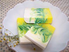 Lavender  Chamomile Soap - the Mantra Swirl